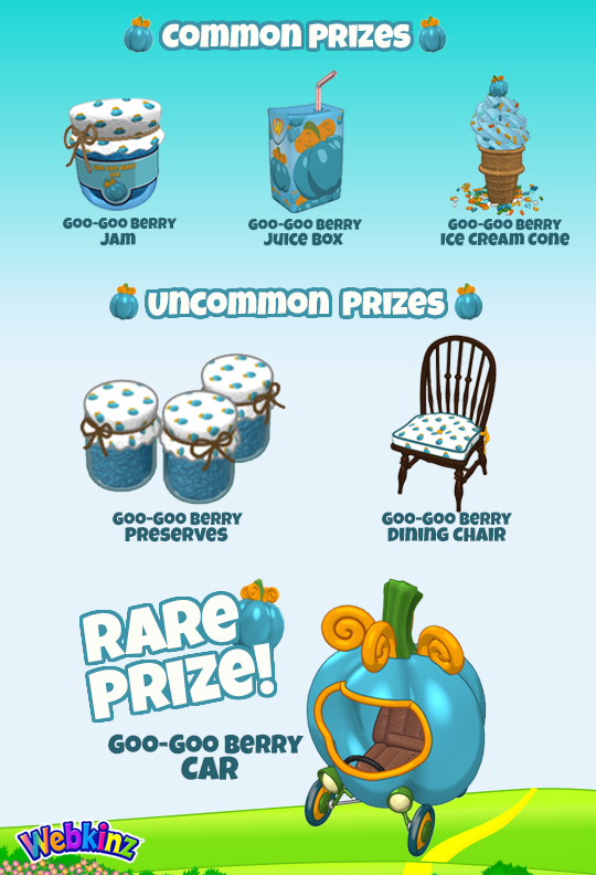 Webkinz fall festival 2018 prizes for adults